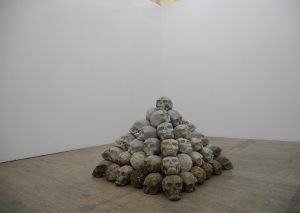 skulpturinstallation