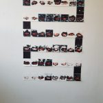 tusch måleri/teckning på vägg