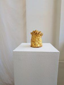 skulptur i utställning