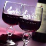 Enjoying a glass of Cahors wine