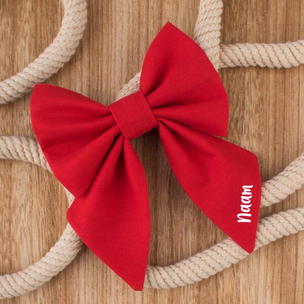 sailor bow tie, hondenstrikje, custom, met naam, gepersonaliseerd, hond