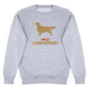 sweater, golden retriever, life is golden, I love my golden retriever