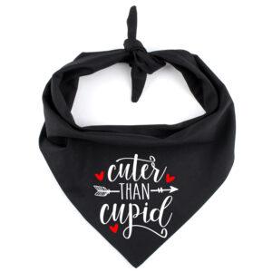bandana hond valentijn, cuter than cupid, hondenbandana