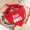 bandana, hond, free hugs, hondenbandana, hond bandana, sjaal