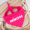 princess, bandana, hond, sjaal, hondenbandana