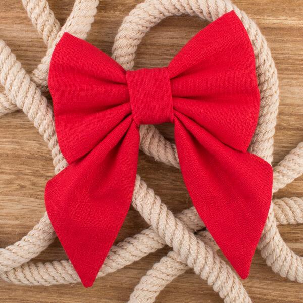 sailor bow tie, hondenstrikje, hondenstrikjes, strikje voor hond, accessoire hond, hond kleding, linnen strik hond, linnen hondenstrikje