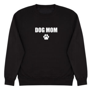 dog mom, sweater, trui, dog mom sweater
