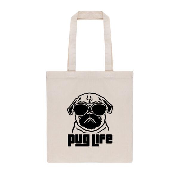 mopshond, tas, tote bag, pug, pug mom, mopshond tote bag, pug life