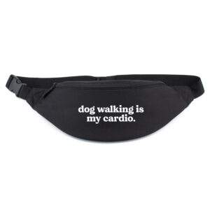 heuptasje, dog walking is my cardio