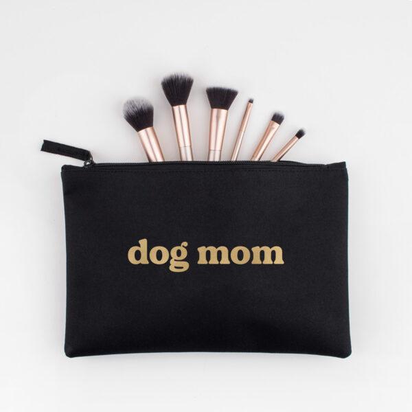 accessoire tasje, dog mom, goud