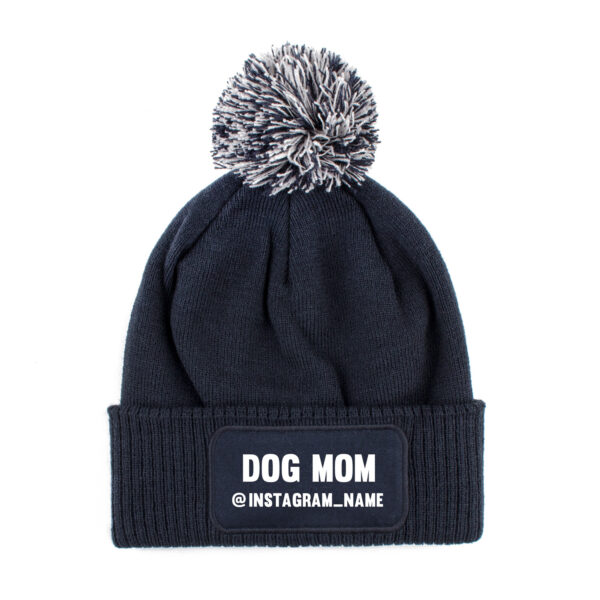 beanie, dog mom, instagram