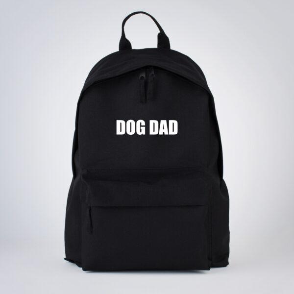 dog dad, rugzak, hond