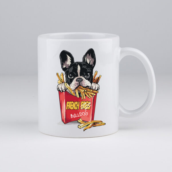 French bulldog, koffiemok, koffietas, frenchie, frenchie dog mom
