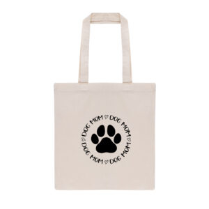 dog mom, tas, totebag