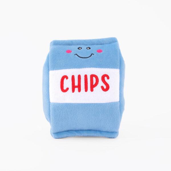 hondenspeelgoed, speeltje hond, leuk, grappig, zippypaws, chips