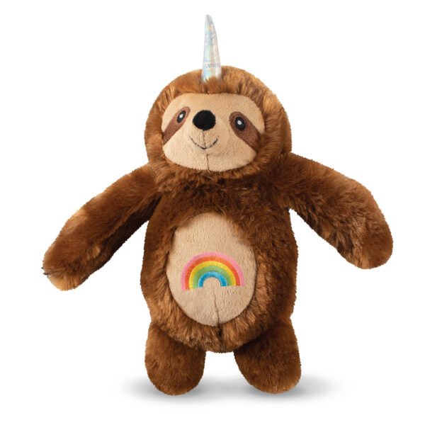 hondenspeelgoed, hondenspeeltje, fringe, pet shop by fringe studio, rainbow unicorn sloth, luiaard