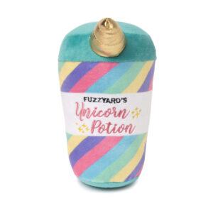 unicorn potion, hondenspeelgoed, speeltje hond, zachte knuffel