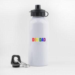 dog dad, pride, gay,, drinkfles, waterfles, leuk, grappig, hondenwandeling, sporten