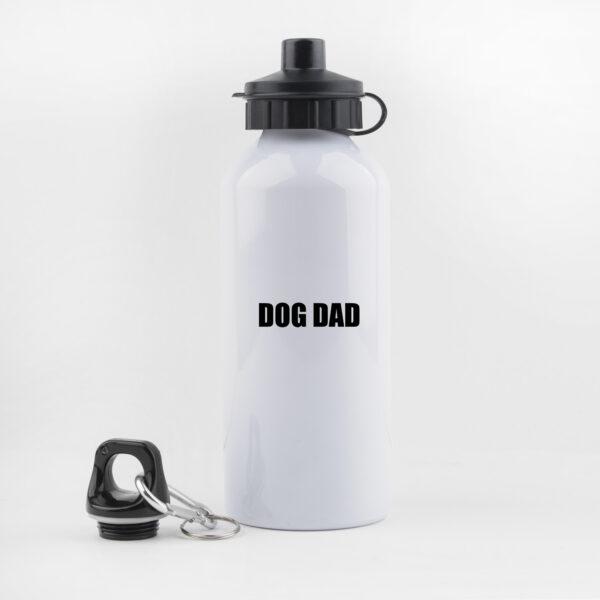dog dad, drinkfles, waterfles, leuk, grappig, hondenwandeling, sporten