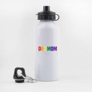 dog mom, pride, lgbt, , drinkfles, waterfles, leuk, grappig, hondenwandeling, sporten