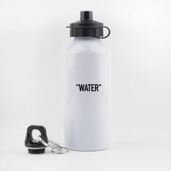 drinkfles, waterfles, leuk, grappig, hondenwandeling, sporten, water