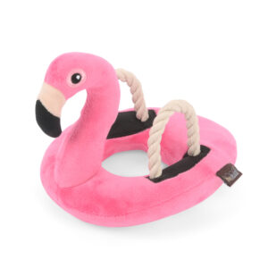 speelgoed, hond, flamingo