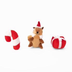 hondenspeelgoed, kerstmis, hond, speelgoed hond