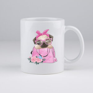 koffiemok, mopshond, mops, leuke koffie tas, pug, mops