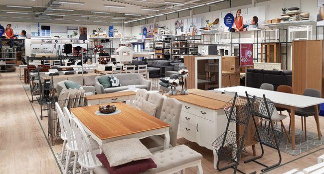 Montering av butiksmiljö