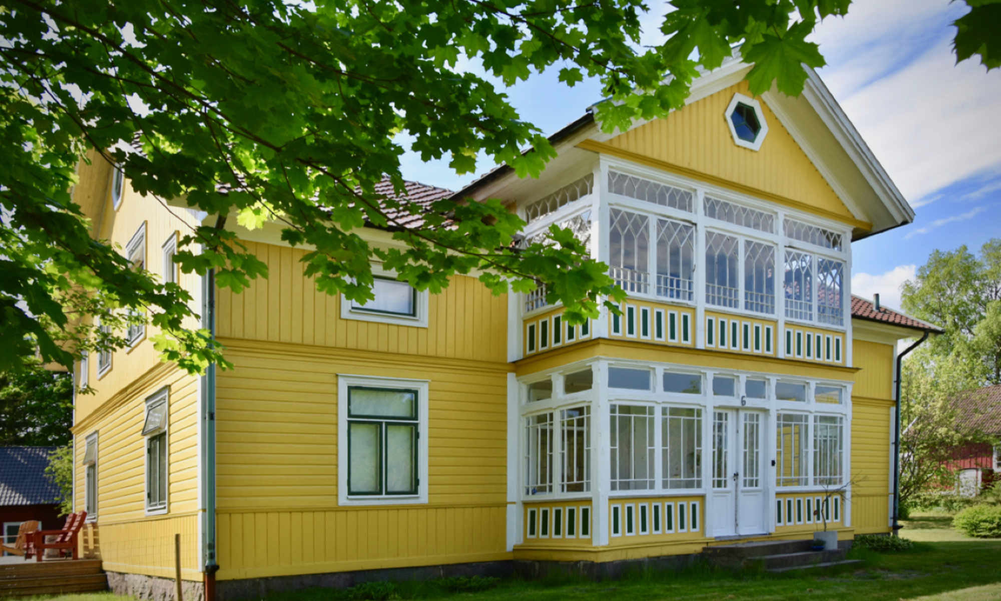 A B&B in the south of Sweden