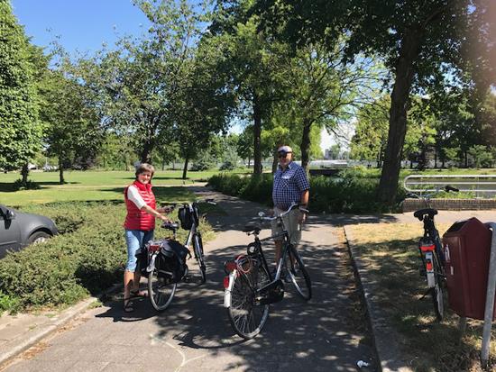 """""""Mooi Voorburg"""" fietst langs de parken"""