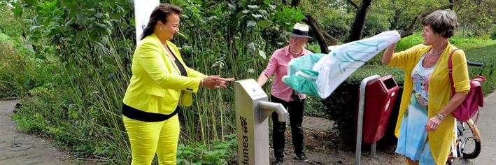 Nieuw watertappunt in Spinozahof Voorburg