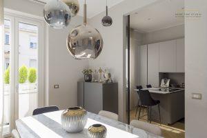 moretimestudio fotografia interni soggiorno e cucina di design