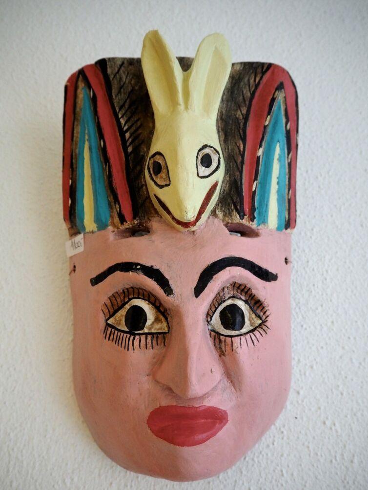 Mexikansk maske Señor Maya