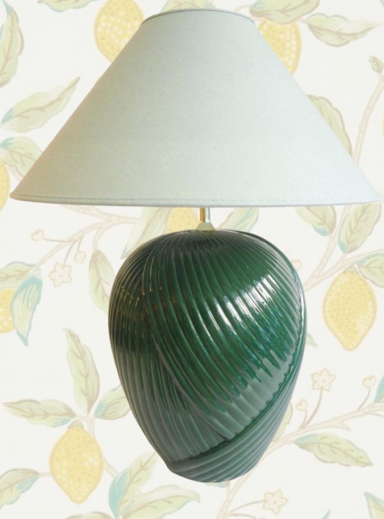 Swirl vintage lampe