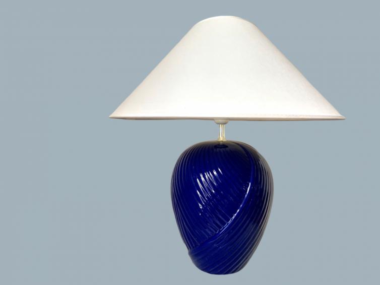 Vintage swirl lampe