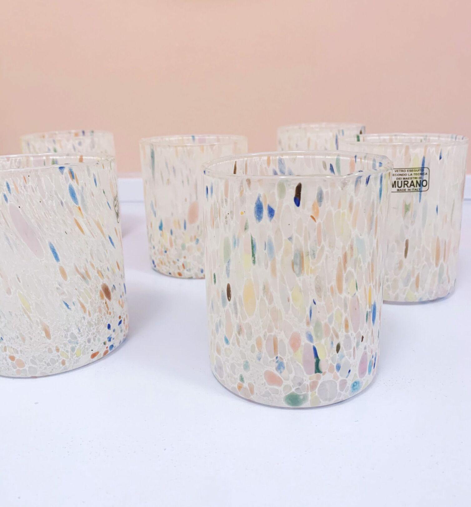 Confetti Pastel Murano