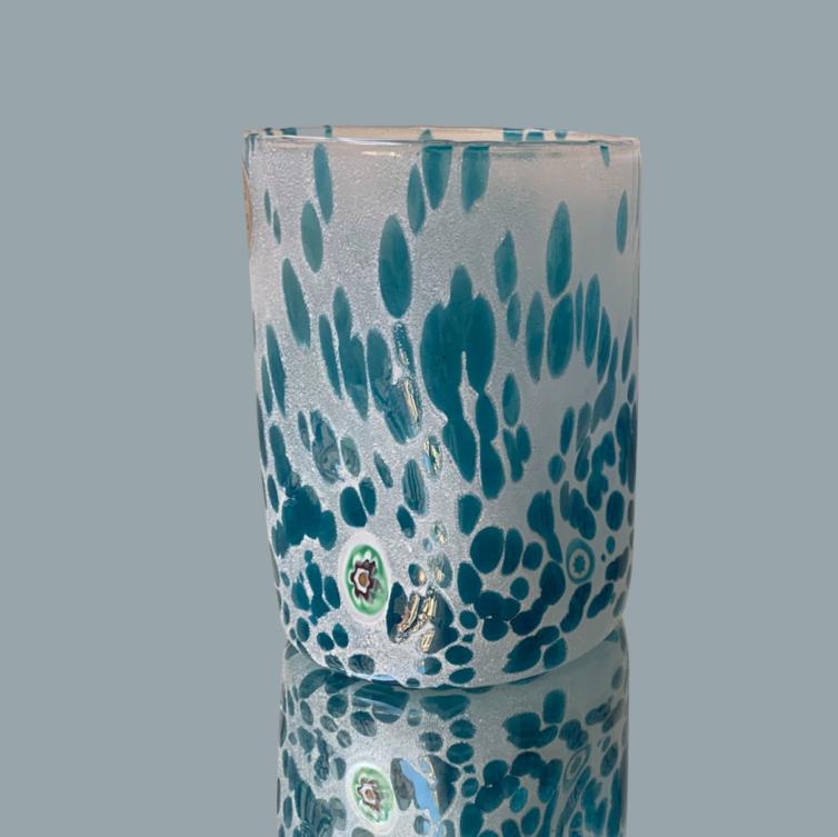 Murano Aquamare Flad