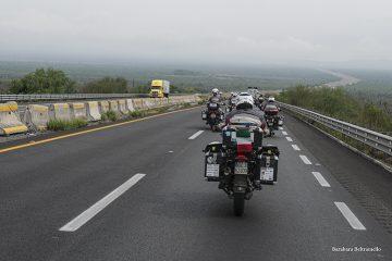 MfP strade da Monterrey verso il confine con gli USA
