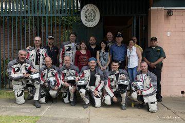 MotoForPeace ad Ambasciata italiana in Nicaragua