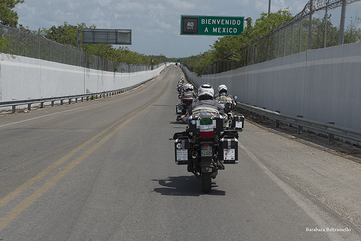 MotoForPeace in Messico 2016
