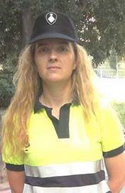Veronica Marcos Ausiliaria Polizia Urbana di Barcelona