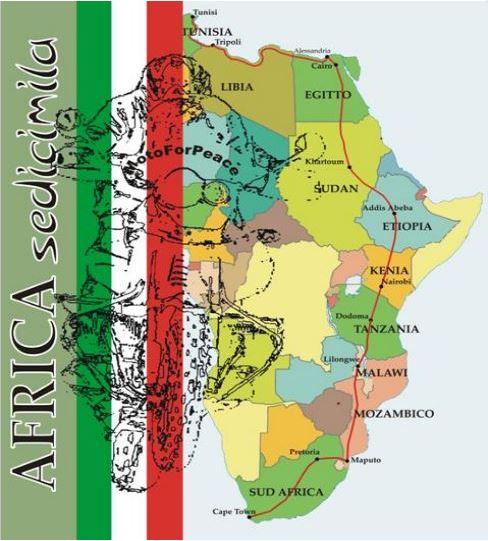 africa 16mila map
