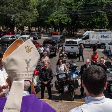 La benedizione del vescovo