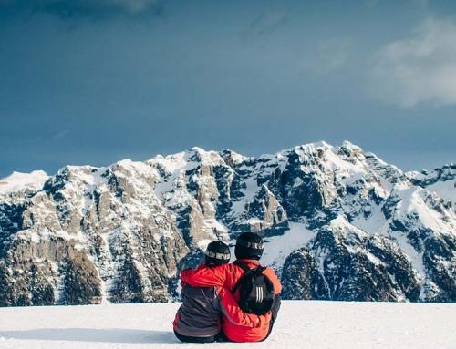 Valentine's on Skis