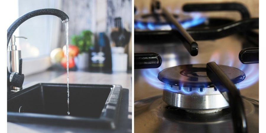 Water Gas and Electricity suppliers