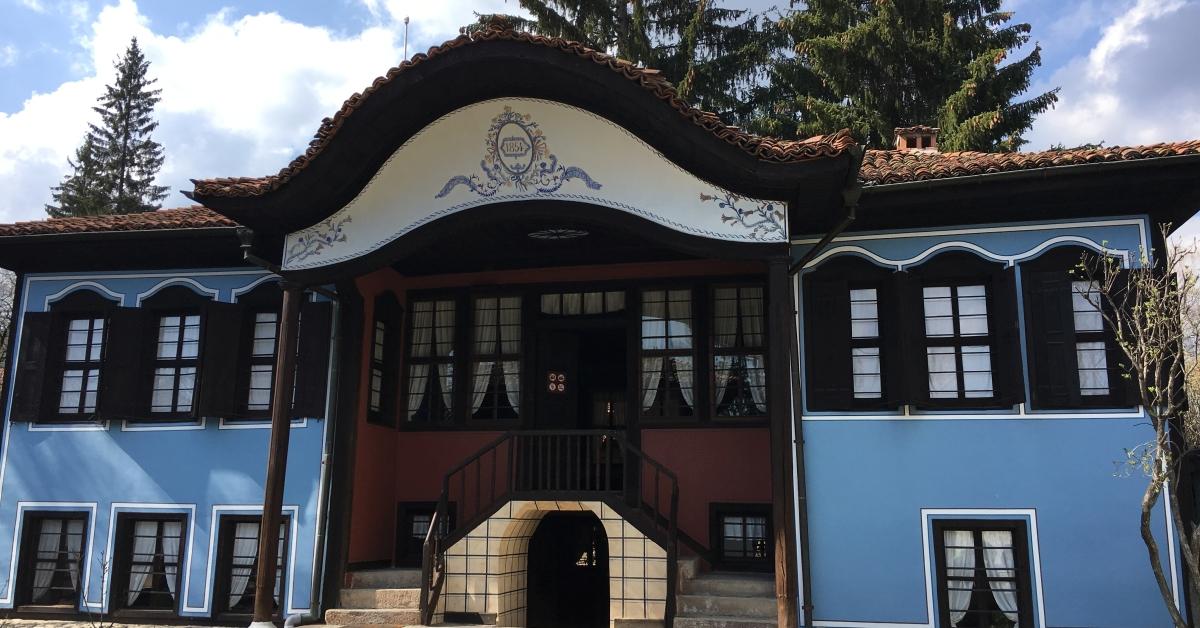 Traditional house in Koprivshtitza