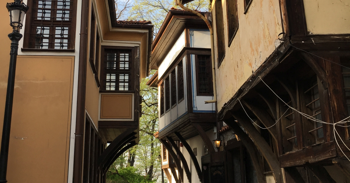 The old part of Plovdiv