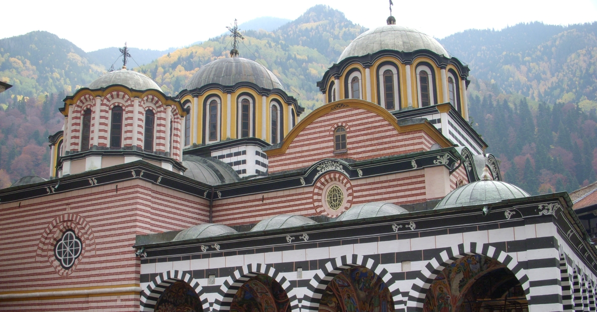 Rila mountain in Bulgaria