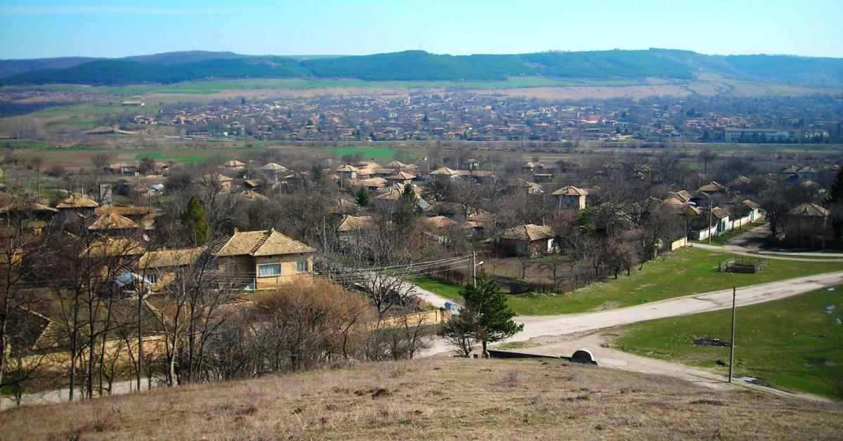 Village of Sadina in Bulgaria